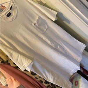 white izod t shirt